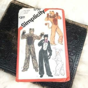 Vintage early 80s halloween costume patterns!